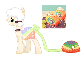 CLOSED Rainbow Plant Pony -24 hour auction- by CannedSoulAdopts
