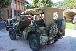 Military Jeep of second world war by A1Z2E3R