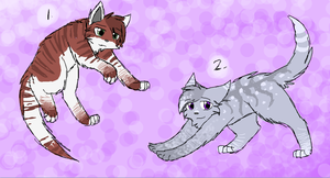 Cat Adoptables 8- CLOSED by CascadingSerenity