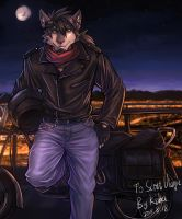 Wanna a ride with me? by Scottvisnjic