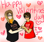 Happy Valentines day babe by 222222555555