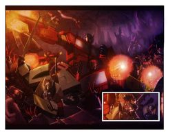 Chaos issue 1 spread by LivioRamondelli