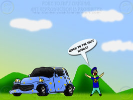 The Idiot Mobile by Mike-Dragon