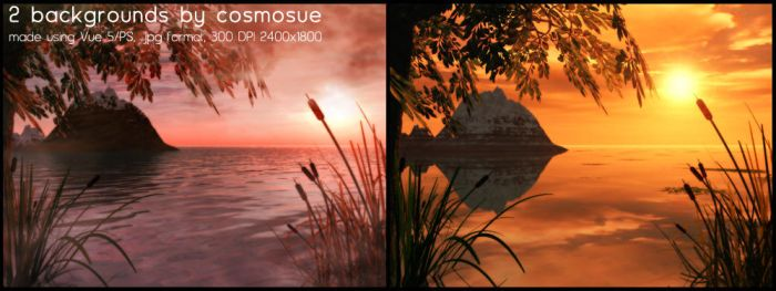 2 Pack Backgrounds by cosmos-Resources