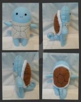 Squirtle Plush by cindalu