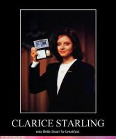 Clarice Starling by TheDelicateDisaster