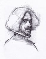 Velazquez sketch 1 by SILENTJUSTICE