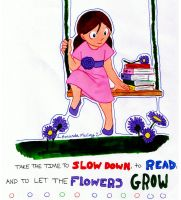 Slow Down by musicbookart42