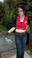 Claire Redfield RE Code Veronica cosplay IV by Rejiclad