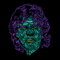Zombie Jagger by flatfourdesign