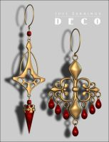 Just Earrings Deco p4 by inception8