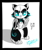 New Character (Zoey) by Kekeywolf