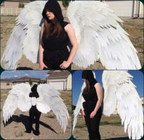 Avacyn Angel of Hope Cosplay Wings - Commission by ThePinkPoudo