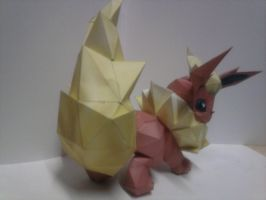 flareon papercraft by rafex17