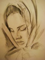 Lana Del Charcoal by Prosaic24