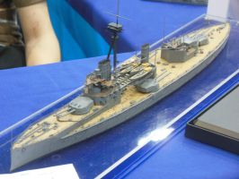 Kitbashed HMS Hercules by rlkitterman