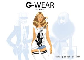 Glen Hanson's G-wear tank by DESPOP