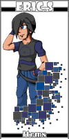 Pixelated Eric by Xeon-Licrate