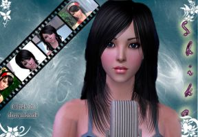 SHIKO 'my sim model' by Maryanne007