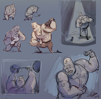 Strongman WIP by Shantyland
