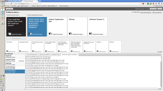 ITSW: Cirnolover9's First CAH Game by edderiofer