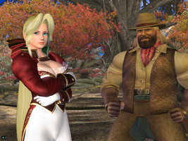 Dead or Alive Online : Helena vs Bass Armstrong by Perfectdranzer