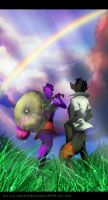after the rain :.commission.: by Silverbloodwolf98
