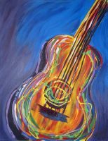 Guitar Colors by chelsea2435