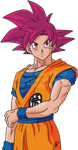 Battle of Gods - Super Saiyan God Goku by The-Devils-Corpse