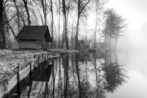 through the misty air VII. by arbebuk