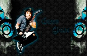 Dave Grohl Wall by humbug99