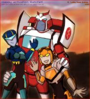 Ratchet with Jet-twins by Evess