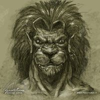 Lion Man by giaci78