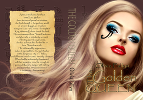 The Golden Queen_Book Cover by TheSwanMaideN