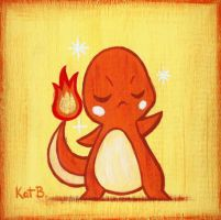Charmander Painting by fuish