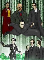 Matrix Poster Art by CPC