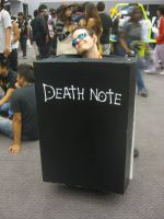 Anime Expo:Death Note Notebook by punkanimelover