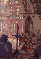 Spera Volume II Cover 2 by AfuChan