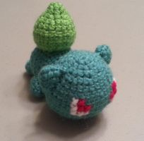 Crochet Bulbasaur by DuctileCreations