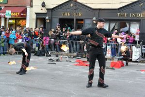 Fire and Ice Festival,Taking A Bow for a Hot Show by Miss-Tbones