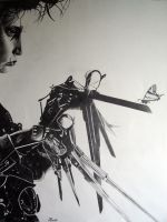 Edward Scissorhands by minus1988