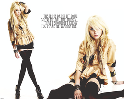Taylor Momsen Wallpaper I by Toxic-Sway