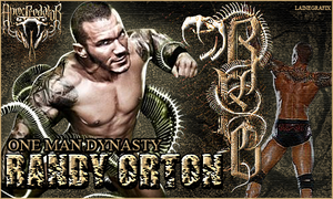 Randy Orton, Apex Predator by Claine89