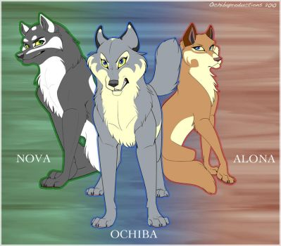 The Masked Wolves by Ochiba