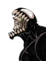 Venom Face 2 by Anny-D