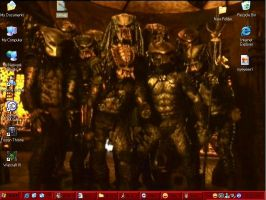 my predator desktop by DonnellyArt