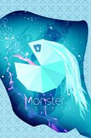Monster letters by Kr4mon