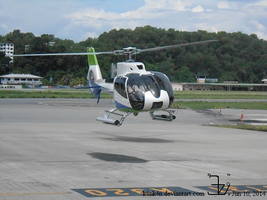 Helicopter 20140610 _ Eurocopter EC-130 _ 1 by K4nK4n