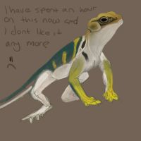 lizard speedy by kovah