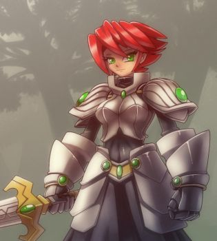 The knight in the mist by nancher